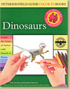 Dinosaurs - Peterson Field Guide Color-In Books